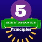 5 Key Money Principles Graphic